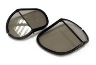 Halcyon Laminated Glass Replacement Split Lens in Smoke for Aviator Goggles