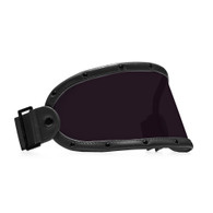 Equilibrialist Knox Visor for Gringo Helmets with Black Trim and Tinted Lens