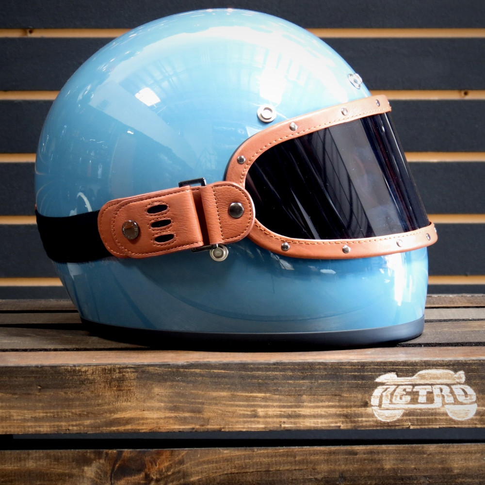 Equilibrialist Knox Maska in Tan/Tinted on Baja Blue Biltwell Gringo