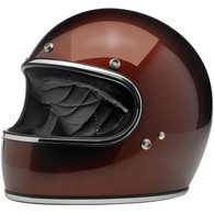 Biltwell Gringo Full Face Helmet in Bourbon Metallic - Left Overview