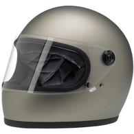 Biltwell Gringo-S Full Face Motorcycle Helmet in Flat Titanium - Overview