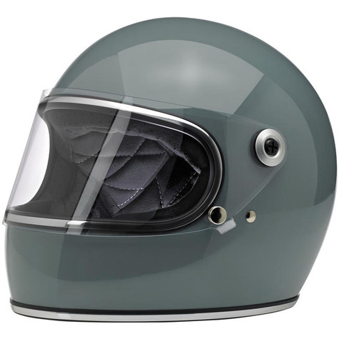 Biltwell Gringo-S Full Face Motorcycle Helmet in Gloss Agave - Overview