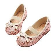 Little Girls Sequin Ballet Flats (Silver, 1)