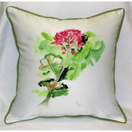 Geranium Large Pillow