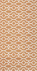 Copper Patterned Hostess Napkins