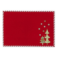 DII Peppermint Trees Placemat - Set of 4