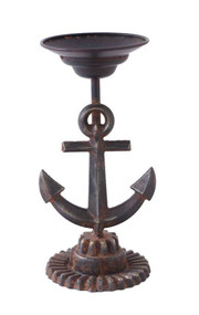 Metal Anchor Candle Holder