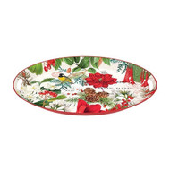 Merry & Bright Medium Metal Tray