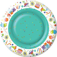 "IHR 10.5"" Happy Birthday Dinner Paper Plate"