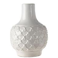 """8"""" White Vase"""