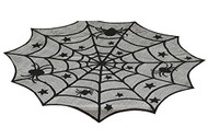 Spider Web Lace table Topper