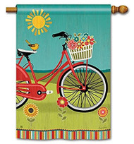 Studio M Summer Ride House Flag