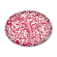 Michel Design Works Candy Cane Glass Soap Dish