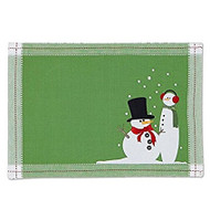 DII Snowy Cold Placemat - Set of 4