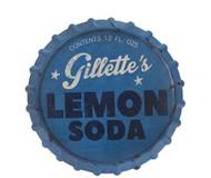 """13.5"""" Lemon Soda Wall Sign"""