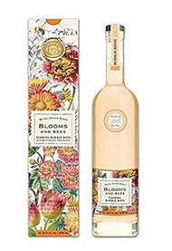 Michel Design Works Luxury Scented Bubble Bath, 12.7 Fluid Ounce, Blooms and Bees