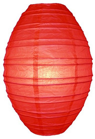 Red Kawaii Paper Lantern - Set of 2