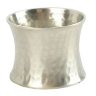 Silver Hammered Napkin Rings