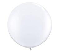 """Qualatex 36"""" White Latex Balloon"""