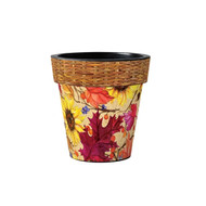 "Fall Splendor 12"" Art Pot Planter"