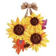 Sunflower Splendor Door Decoration