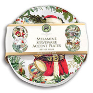 Christmas Joy Accent Plate Set - Set of 4