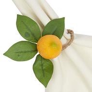 D.I.D. Lemon Napkin Rings - Set of 4