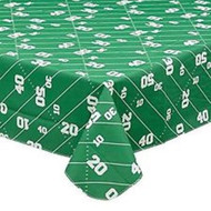 "Football Vinyl Tablecloth 52"" x 70"""
