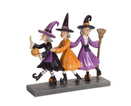 Dancing Witches Figurine