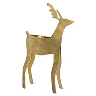 Tag Large Reindeer Taper Holder