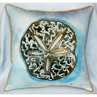 Betsy€™s Sand Dollar Large Pillow