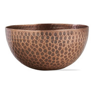 Aluminum Hammered Copper Bowls