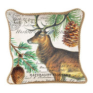 Balsam Fir Square Pillow