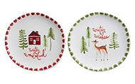 Woodland Appetizer Plates - Set of 2