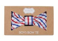 Mud Pie Plaid Toddler Boys Bow Tie
