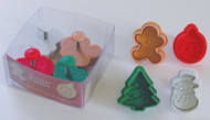 Christmas Cookie & Pastry Stamps 1