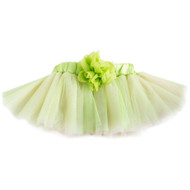 Green & Pink Tutu with Flower