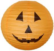 Orange Halloween Pumpkin Lantern, 16 inch