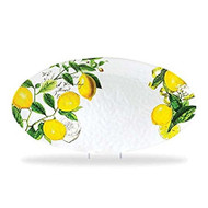 Lemon Basil Large Oval Platter