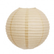 "Ivory 14"" Paper Lanterns - Set of 2"