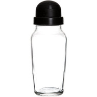 Libbey Glass Cocktail Shaker with Black Lid