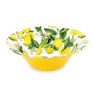 Lemon Basil Large Serving Bowl