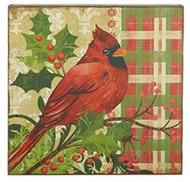 15.5 Red Cardinal Print