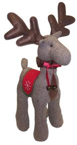 Brown Tweed Reindeer