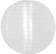 """White 14"""" Nylon Lantern"""