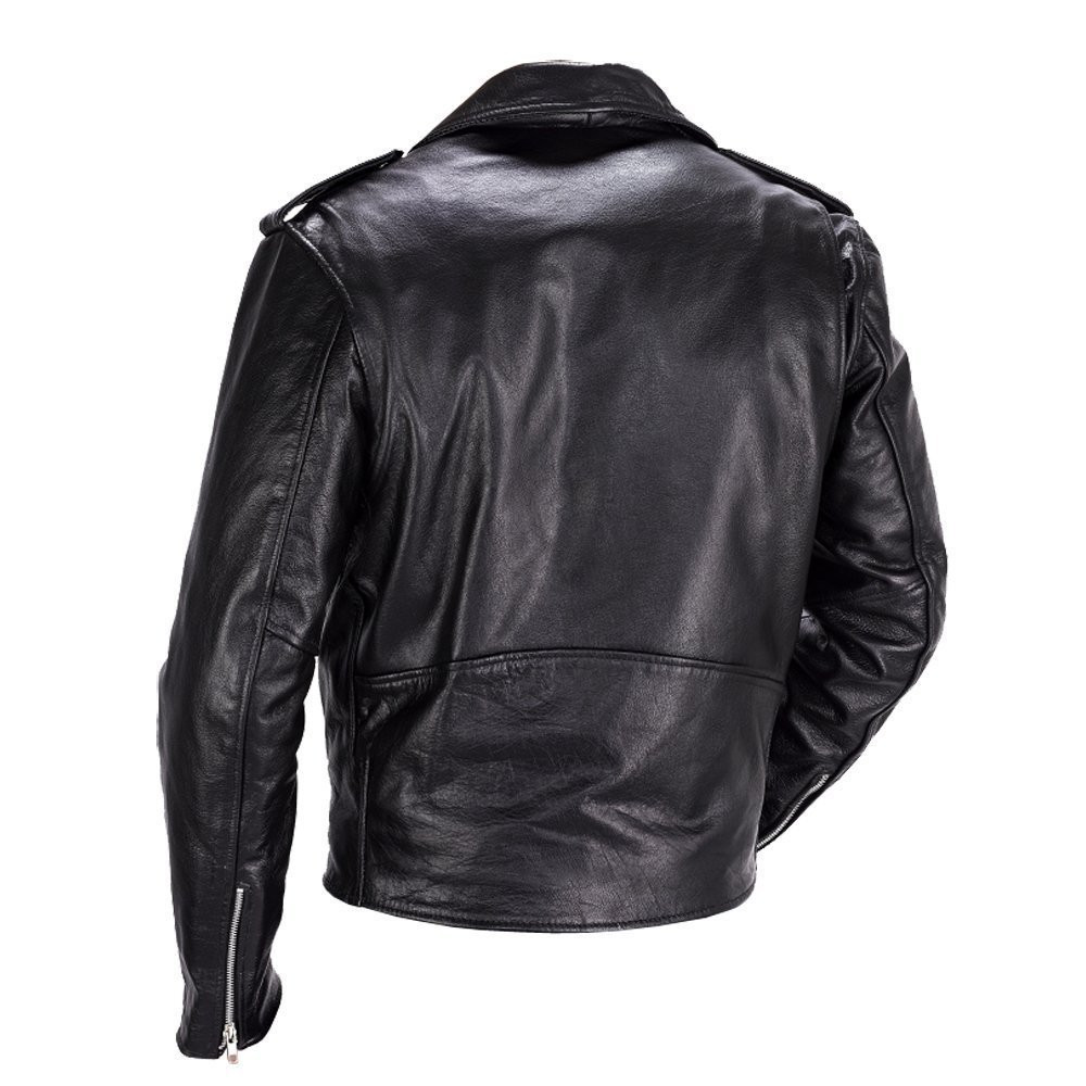 Nomad USA Classic Leather Biker Jacket for Men - Motorcycle House ...