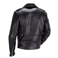 Nomad Classic Leather Biker Jacket for Men 2