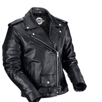 Nomad Classic Leather Biker Jacket for Men 1