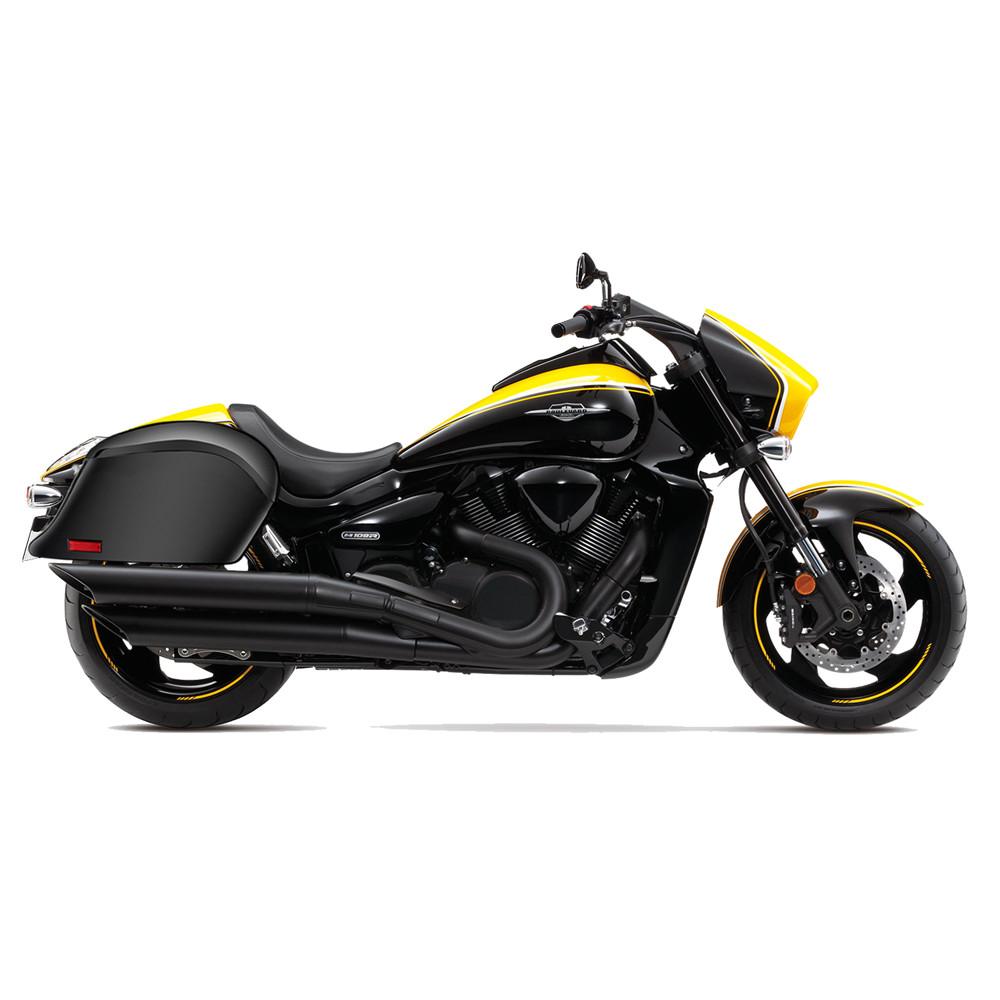 Suzuki Intruder 1800 >> Suzuki Boulevard M109 Viking Lamellar Slanted Hard Saddlebags - Motorcycle House Australia