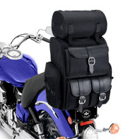 Viking Extra Large Plain Sissy Bar Bag 4,553 Cubic Inches